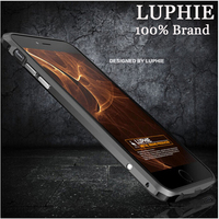 Luxury Brand Luphie Aluminum Metal Frame Bumper For Apple iPhone 6 6S 4.7 INCH New Product Ultra Slim Blade Sword Series CASES