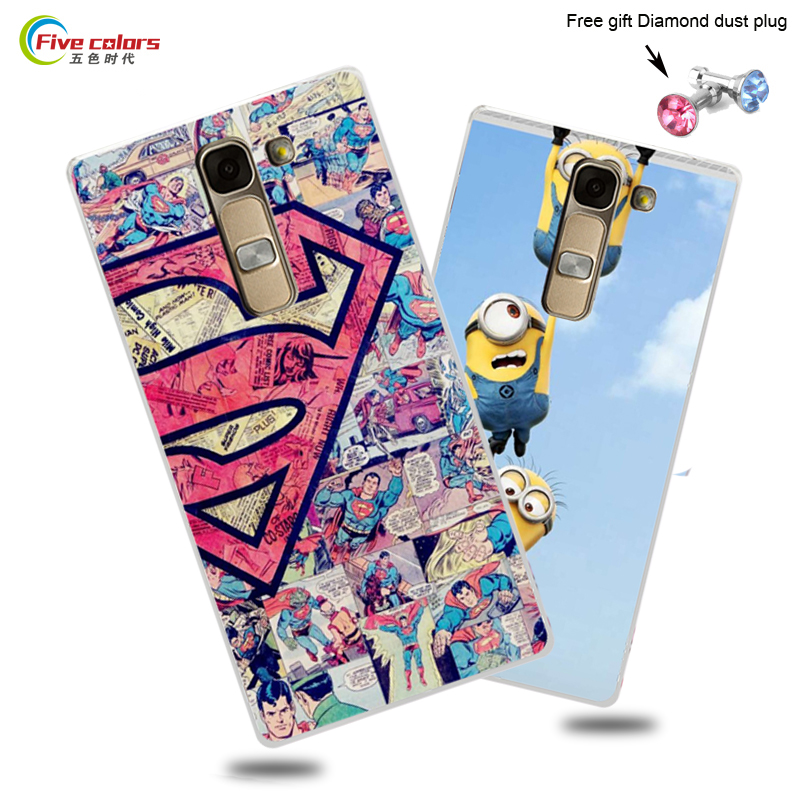Newest High Quality Hard Plastic Case For LG Magna H502F H500F C90 Colored Cartoon Painting Case For LG G4C G4 mini Back Cover