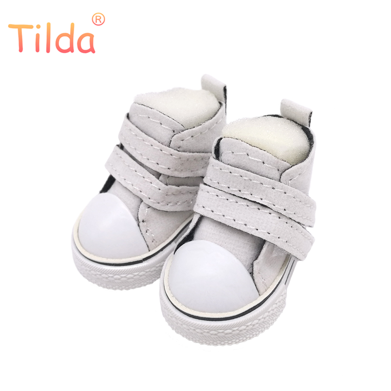 Tilda Mini Doll Toy Shoes 5cm For BJD Doll,Matte PU Doll Boots 1/6 Frosted Sneakers Shoes for Tilda Doll,New Arrival 5pairs/lot handmade chinese ancient doll tang beauty princess pingyang 1 6 bjd dolls 12 jointed doll toy for girl christmas gift brinquedo