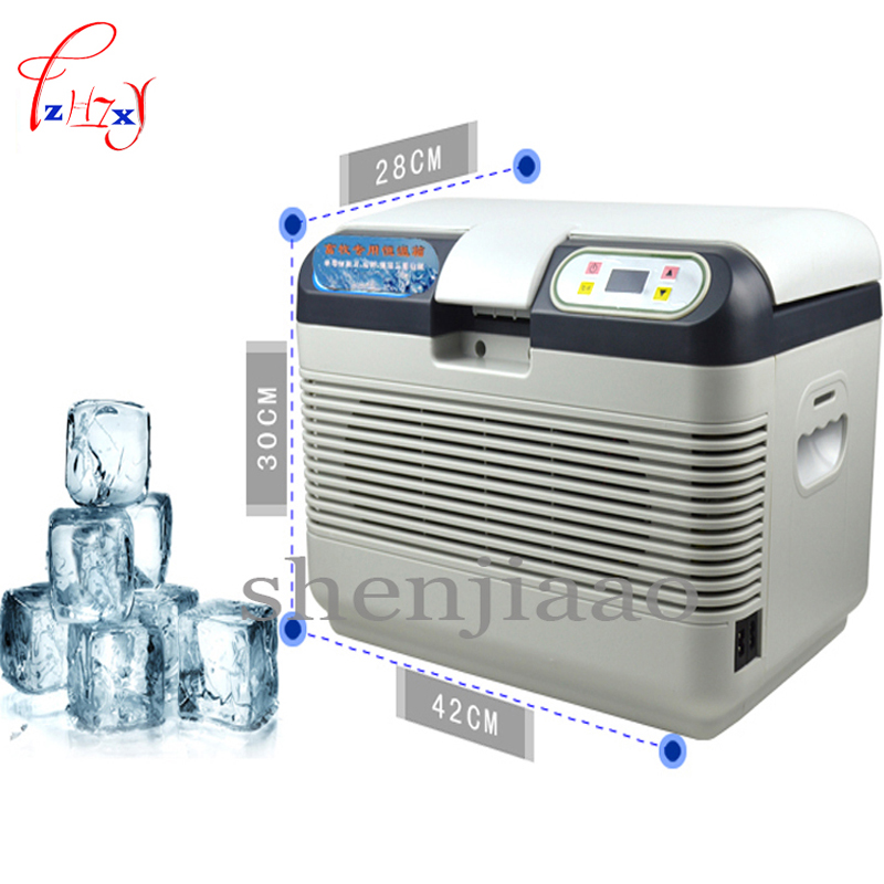 AC 220V  12L Portable Thermoelectric Cooling Drug Sperm & Pig Nursery / Rabbit / Tempered Mouse Cool Box Car Fridge Freezer ac220v dc12v 12l portable drug thermoelectric cooling sperm