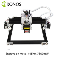 Laser Engraving Machine 24*19cm Working Area GRBL 500mw-5.5w Laser Only 7.5w Engrave Metal No Assembly Required DIY Wood Router
