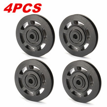 4Pcs 95mm Universal Bearing Pulley Wheel Cable Fitness Equipments Acce