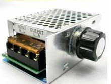 4000 Вт AC 220 В 110 В scr Напряжение регулятор Двигатель Скорость управления диммер термостат водонагреватель/освещение/ электродвигатель/утюг и т. д.