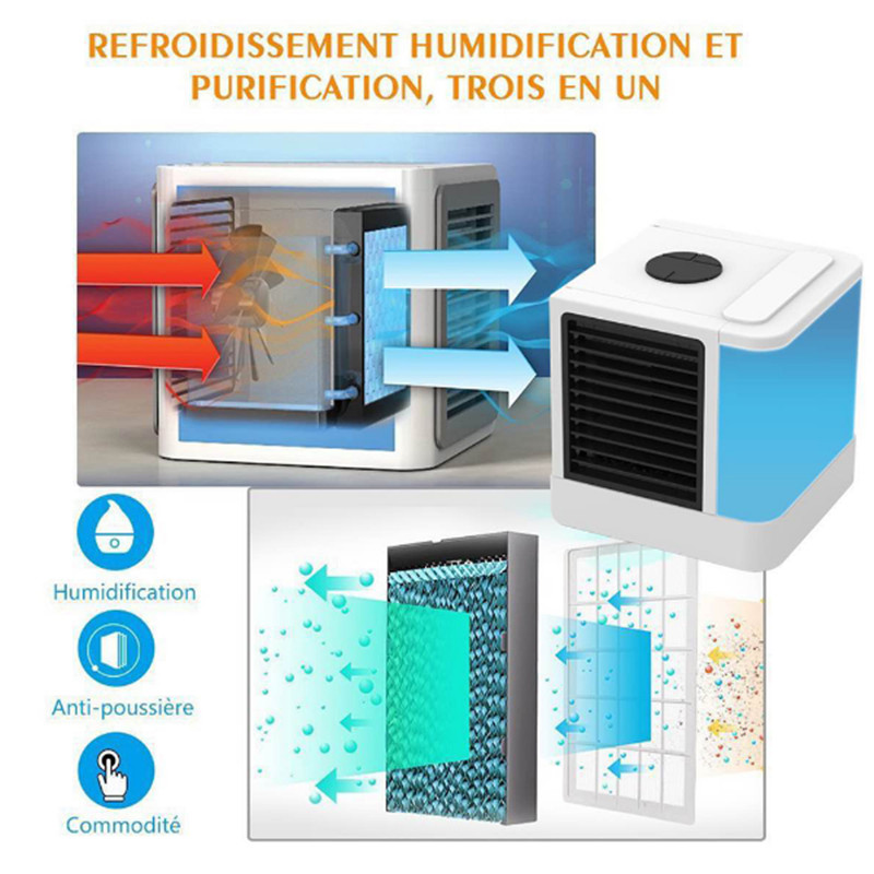 2018 Air Cooling Fan with LCD Air Conditioner Arctic Air Cooler Humidifier Purifier Mini Fans Strong Wind Air Conditioning 80w air conditioning fans air cooling