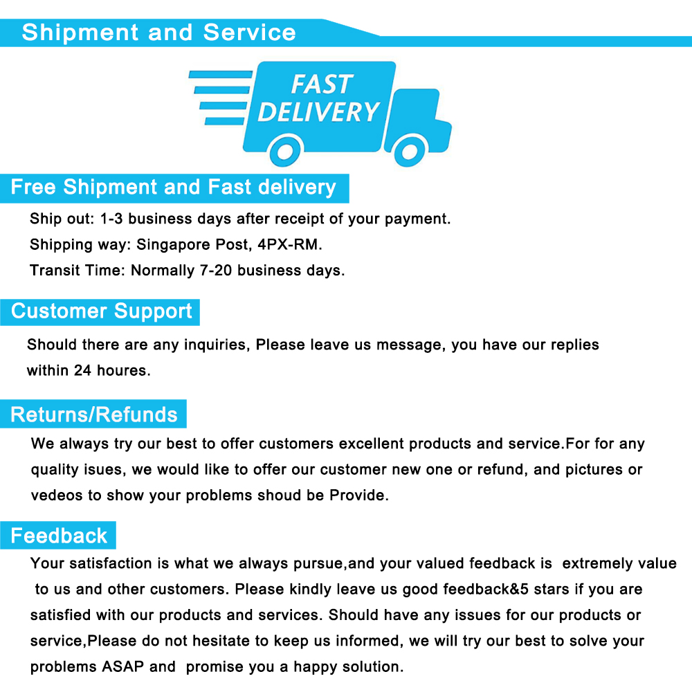 Shipment and Service-3