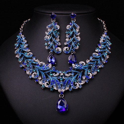 Coralie-Blue-Rhinestone-Jewelry-Set