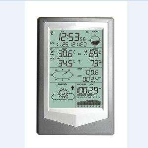 Image 3 - WS1040 Professionele Weerstation Met Pc Link Huishoudelijke Draadloze Thermometer Hygrometer Luchtdruk Weerbericht