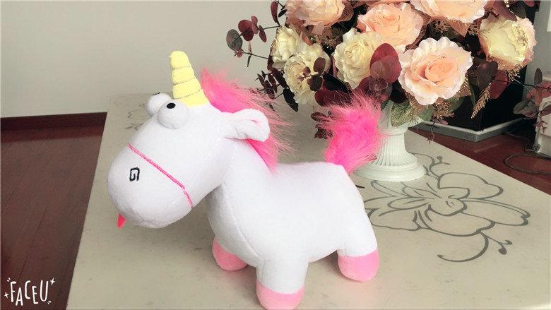 HTB1bfl9SXXXXXadapXXq6xXFXXX9 - Cute pink/blue stuffed PP Cotton Horse doll Christmas present kids doll baby plush toys 30cm Cartoon plush Unicorn toys VOTEE