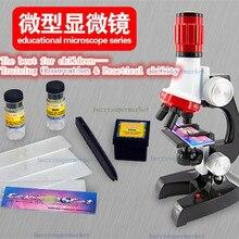 1200X 100X 400X Trinocular biological microscope Focusable Science&Education microscope kit refined Scientific Instruments