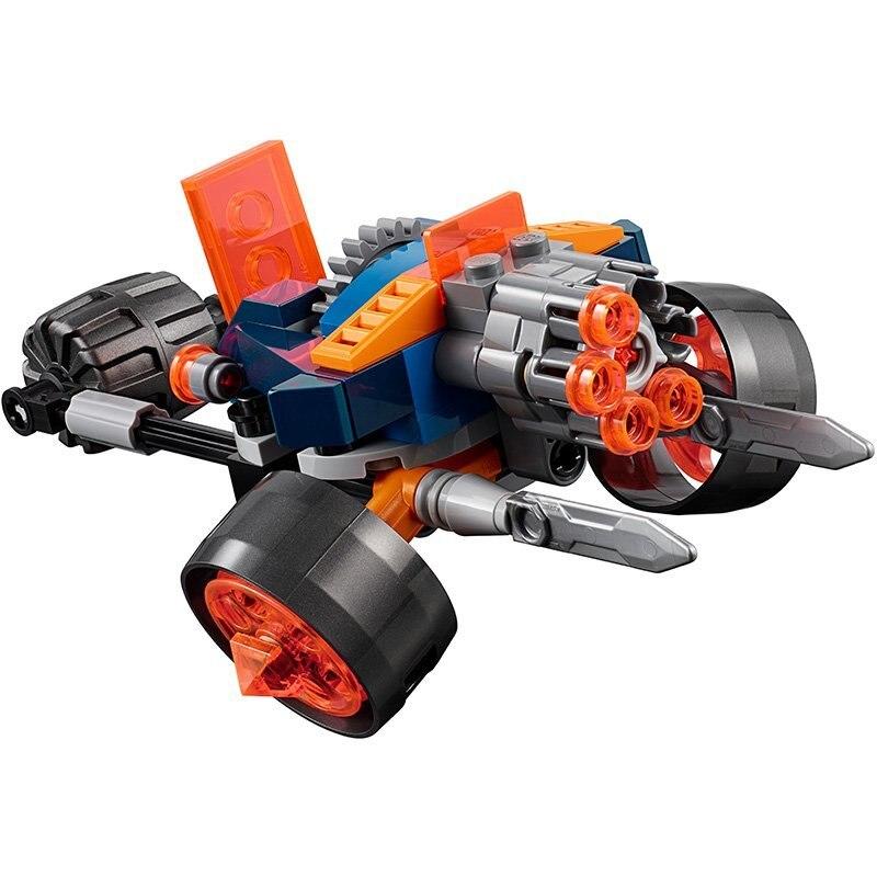 Модели Строительство комплекты 10590 110 шт. Nexus Рыцари King  охрана Минск строительные блоки, совместимые с lego 70347 игрушка и хобби