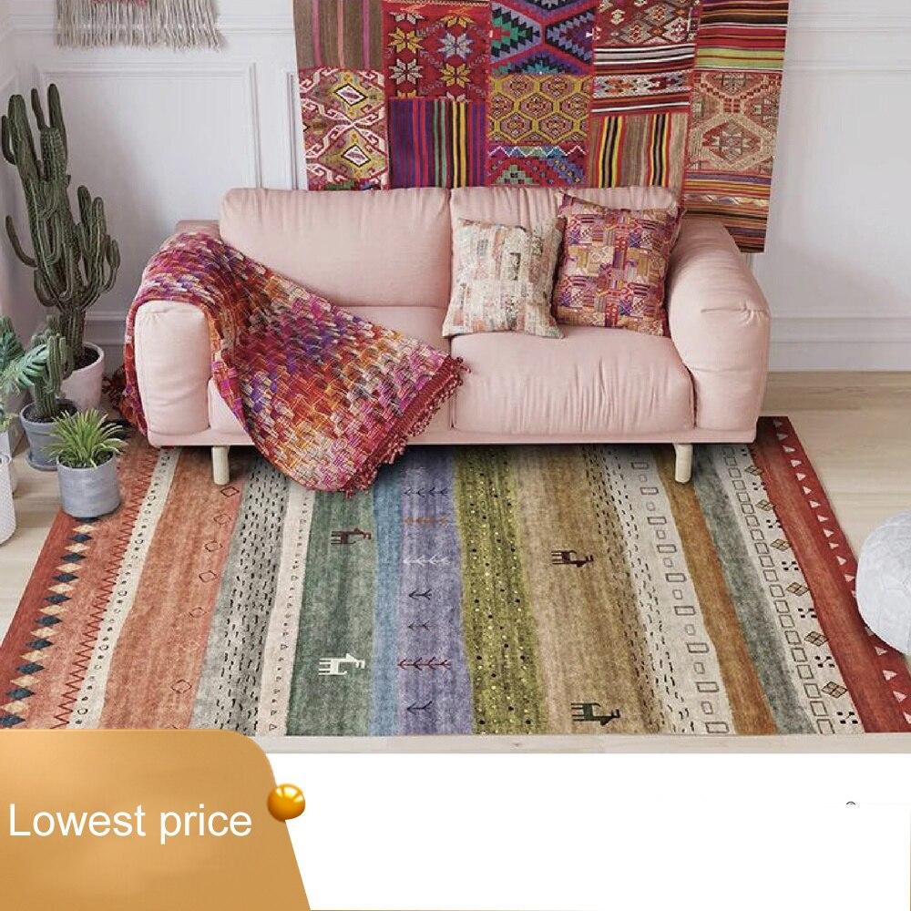 Nordique marocain ethnique géométrique Kilim salon tapis Simple chambre salon tapis chevet couverture étude tapis
