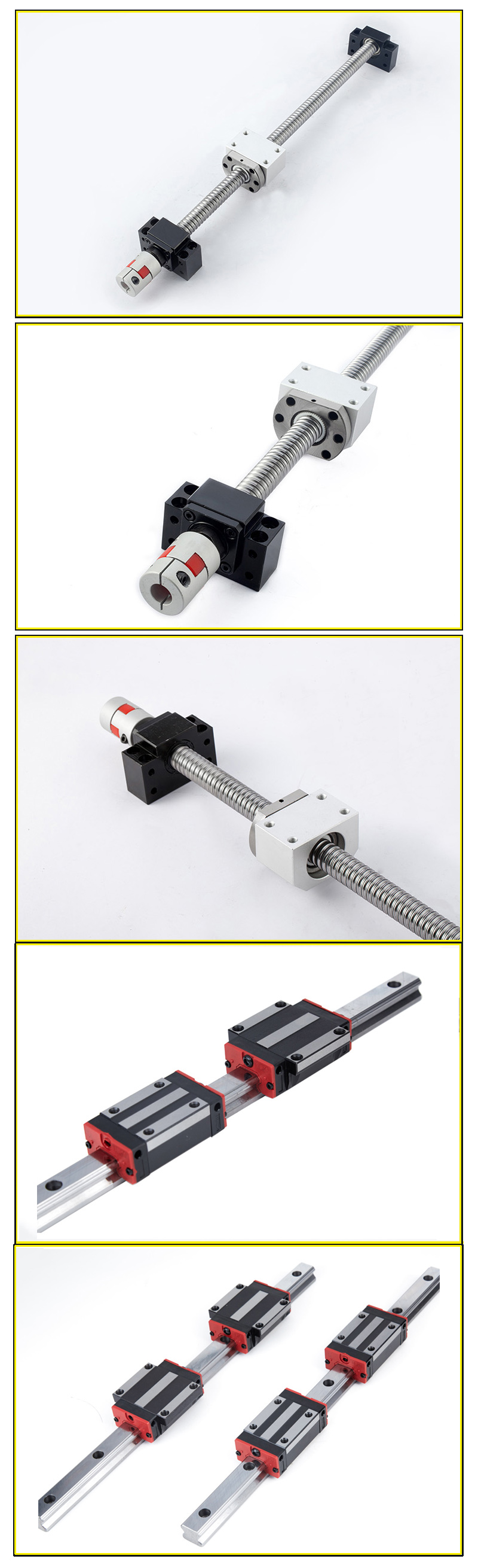 linear guide ball screw assembly