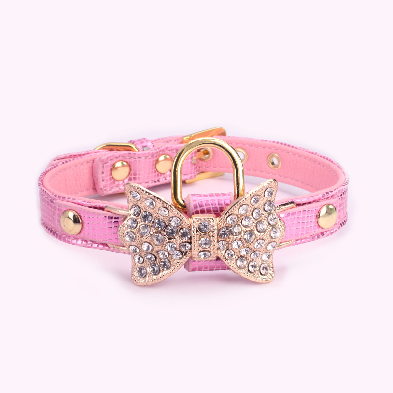 Female Girl Pink Puppy Collars Blue Black Cool Dog Collar Pet Supplies Plus Grooming Service Dog National Pet Day 2018 Cheap Boy