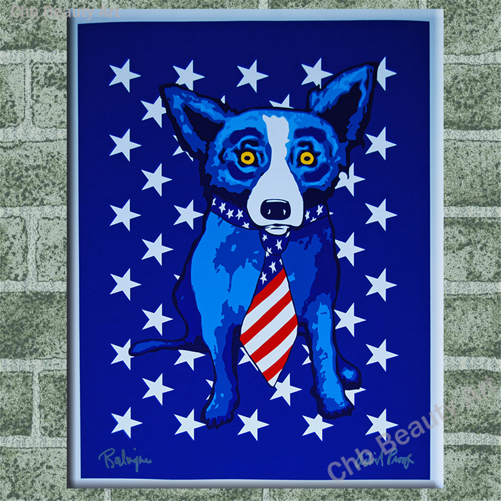Popular rodrigue blue dog buy cheap rodrigue blue dog lots for Order cheap prints online