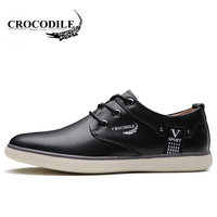 Crocodile 2018 New Men's Leisure Athletic Sport Shoes Waterproof Breathable Male Skate Sneakers Outdoors Young Men Running Shoes
