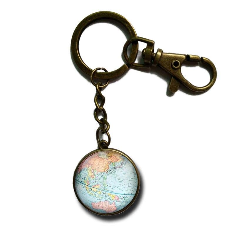Popular Globe KeychainBuy Cheap Globe Keychain lots from China – Map World Globe Keyrings
