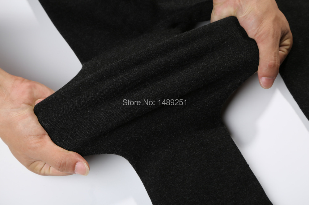 Women Winter Warm Tights Plus Size Thicken Bamboo Cotton Nine Points Pantyhose Cheap Wholesale From China