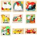 Дядя Дерево Мерного Головоломки 3D Головоломки Лучшие Подарки Для Ребенка Многослойные Деревянные Головоломки для Детей Развивающие Игрушки Повествование Утка