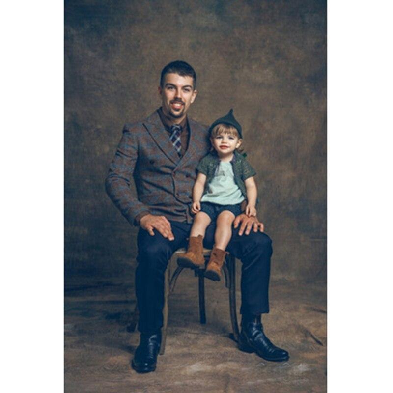 Fond de photographie de mousseline teinté Pro arrière-plan de peinture de maître ancien pour Studio de Photo de famille fait à la main personnalisé DM152