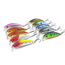 1Pcs 7cm 8.5g fishing lure iscas artificiais para pesca 6# Hooks Minnow fishing wobblers crankbait swimbait fishing tackle WQ9