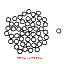 OD 6mm x CS 1.5mm nitrile NBR black o ring o-ring o rings sealing ring oil rubber gasket 10pcs lot 24x20x2 mm o rings o ring oil seal resistant nbr nitrile butadiene rubber sealing o ring 24mm od x 2mm cs
