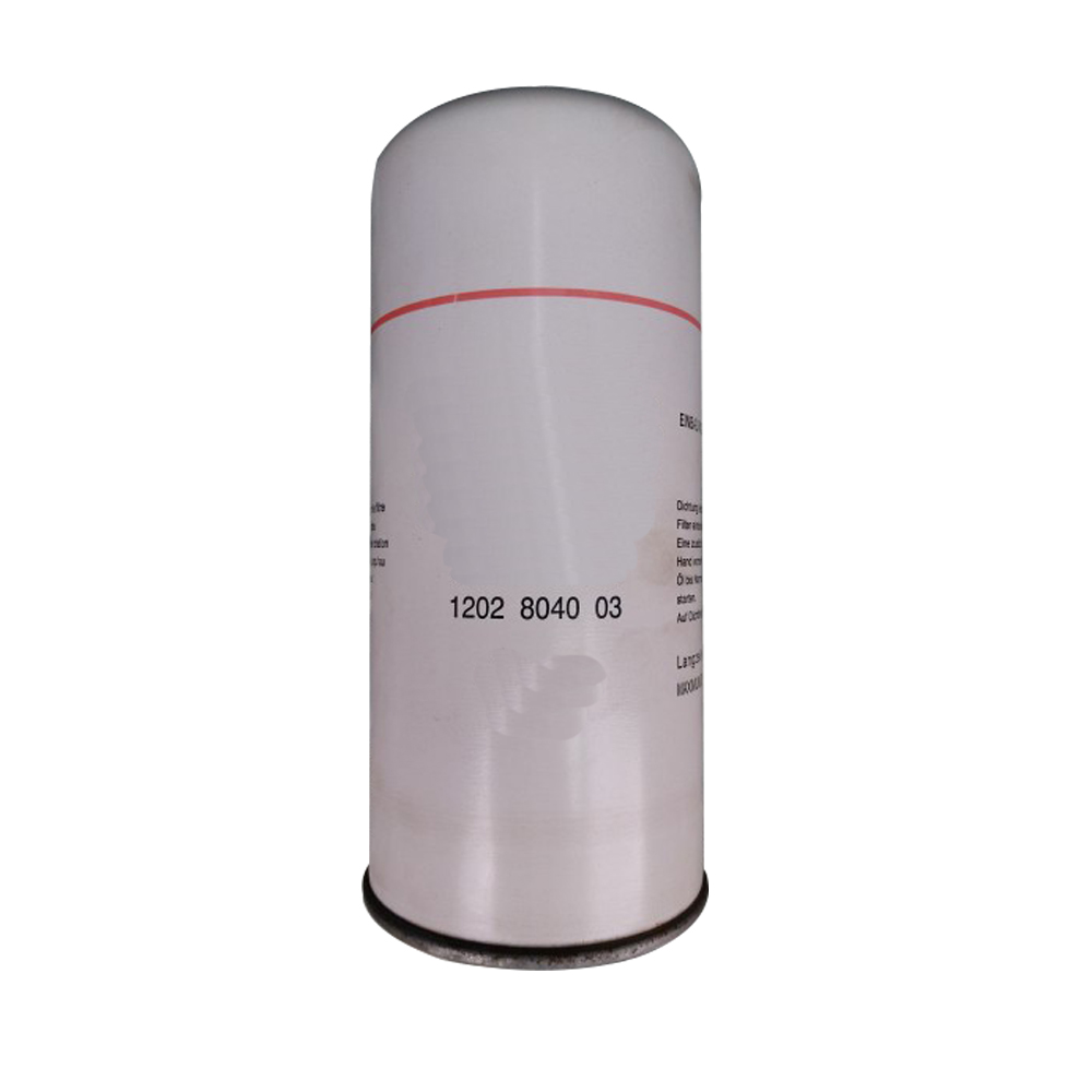 Filtre à huile de remplacement 1202804000 pour pièces de compresseur d'air Atlas Copco 1202804002