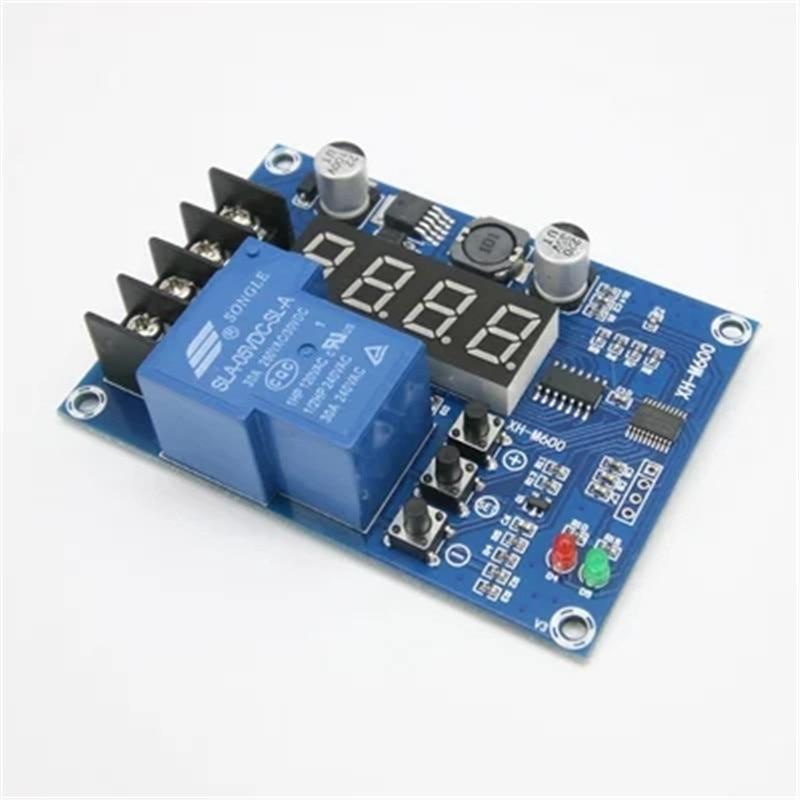 12v 24v 48v battery Charging Control Module 6-60V Storage Lithium Battery Protection Board charger controller XH-M600