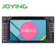 Радуясь Стерео Для Toyota Quad Core 2 Дин Android 5.1.1 Автомобиля DVD GPS Navagation Емкостный Сенсорный экран Головное устройство