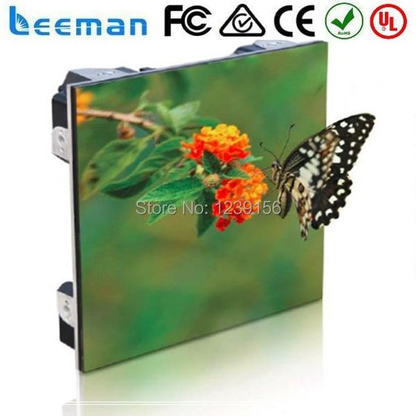 Leeman Factory price P6 lightweight die casting rental indoor led display screen