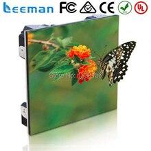 Leeman цена Завода P6 легкий литья прокат внутренний светодиодный экран