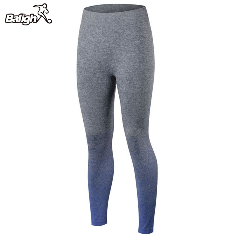 Women Yoga Sports Pants Elastic Compression Tights Fitness Women Running Trousers Gym Dry Quick Leggings Calzas Deportivas Mujer