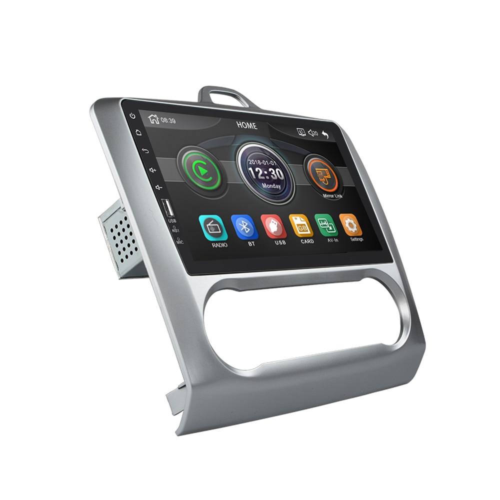 2 din 9 ''ミラーリンク Android Carplay ラジオフォーカス 2004 2011 の bluetooth USB ホイールコントロールマルチメディア MP5 プレーヤー Autoradio  グループ上の 自動車 &バイク からの 車 ラジオ の中 2