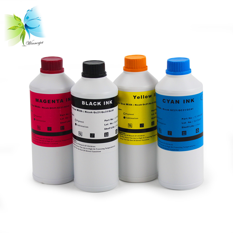 sublimation ink for Ricoh (9)