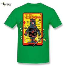 Classic Game Men Dark Souls Praise the Sun Black Knight T Shirt Custom Soft Cotton T-Shirt