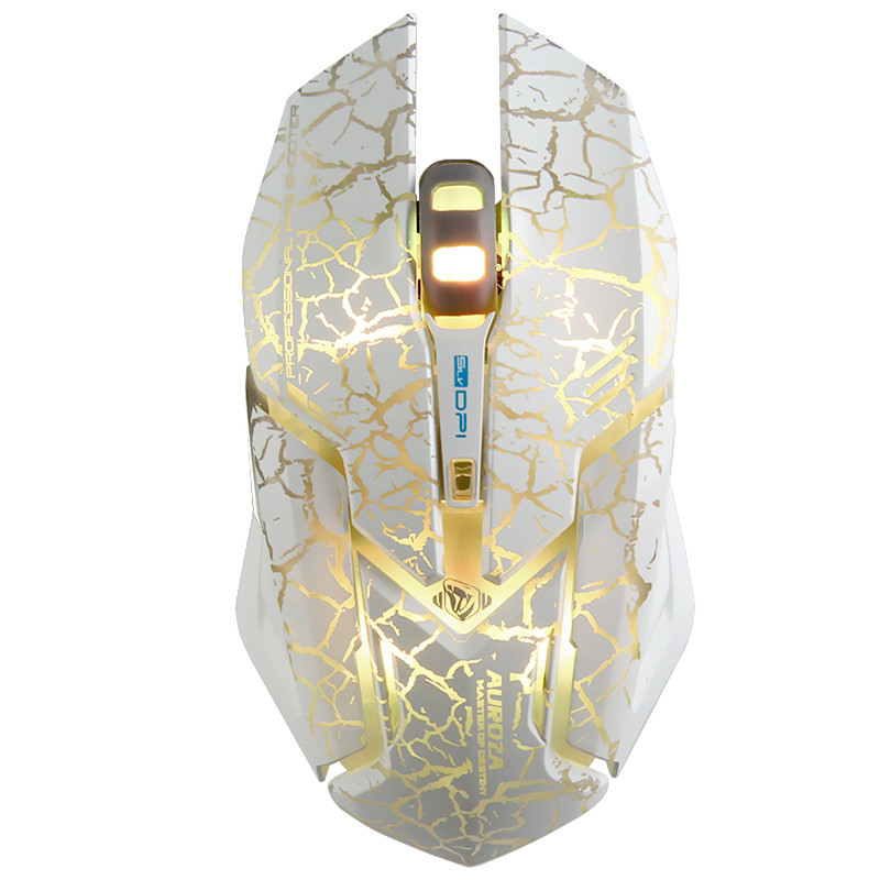 4000 DPI Professional Backlight Wired Gaming Mouse Gamer 6 Buttons Optical Game Mouse 5 Levels DPI Adjustable Computer Mice