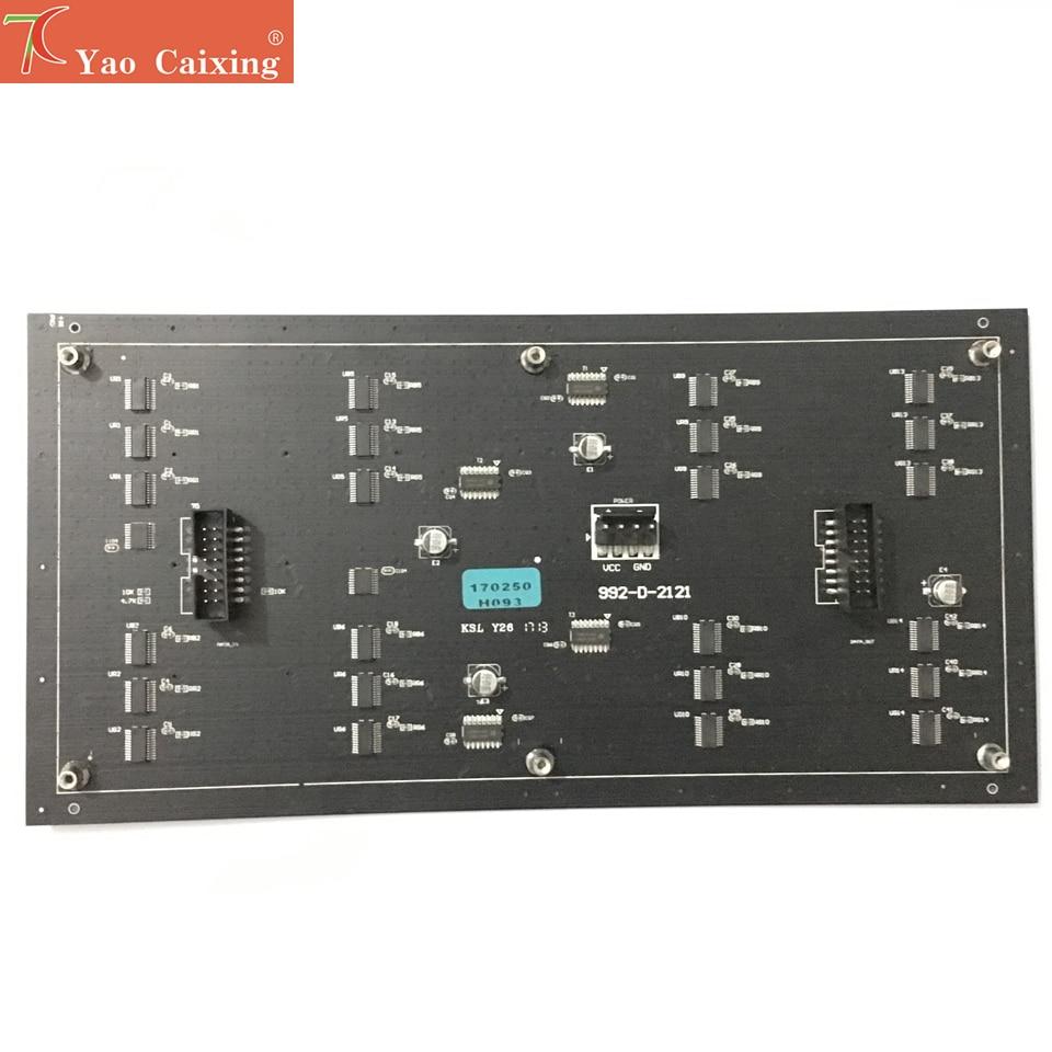 Ücretsiz kargo Aliexpress P4 RGB esnek panel yumuşak tahta HD ekran 64x32 nokta matris p4 smd rgb led modülü led tabela panelleri