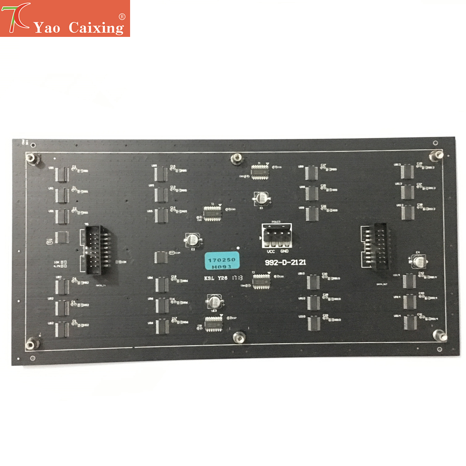 무료 배송 aliexpress p4 rgb 유연한 패널 소프트 보드 hd 디스플레이 64x32 도트 매트릭스 p4 smd rgb led 모듈 led 사인 패널