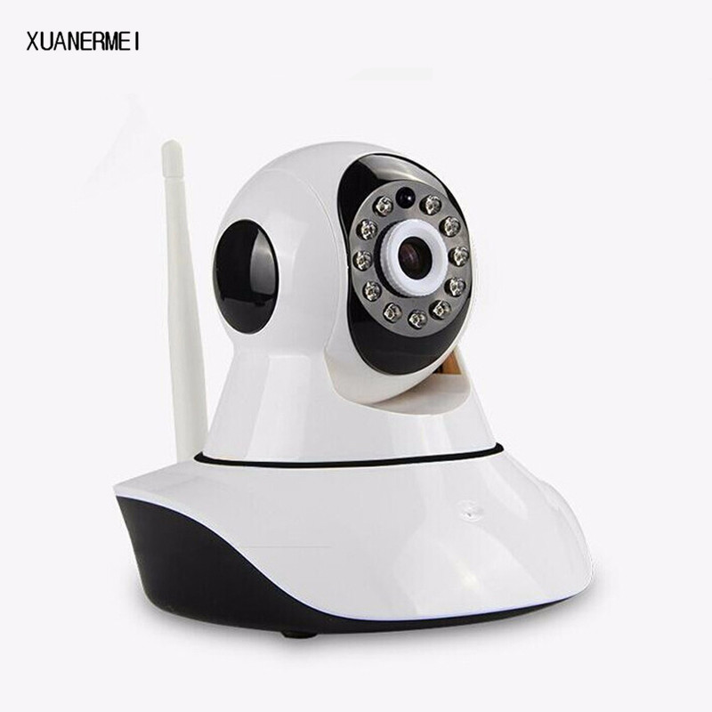 XUANERMEI Family Security System HD 720P Wireless Control Video Baby Monitor WiFi IP Camera Two Way Audio With IR Night Vision