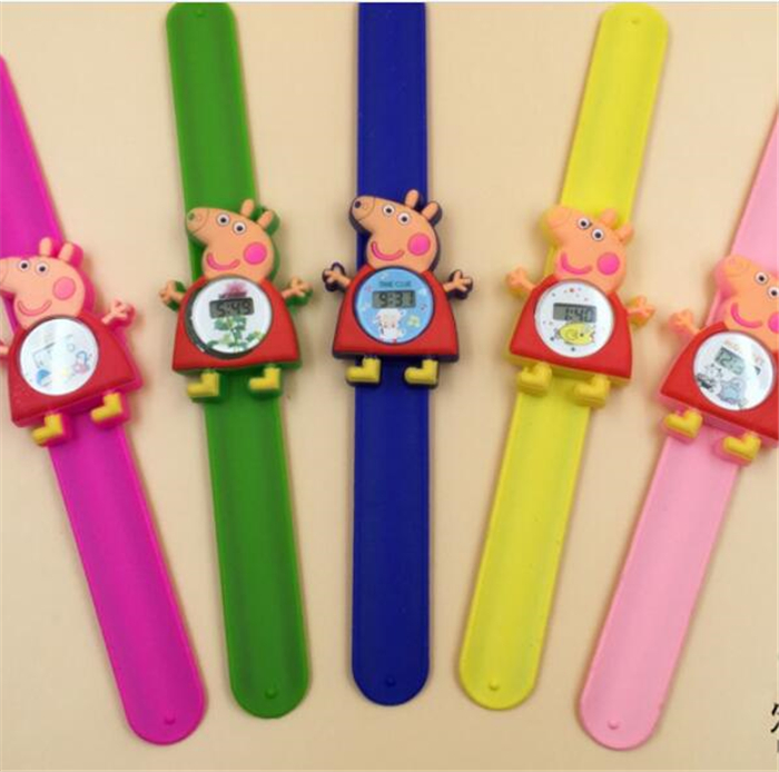 Watches Special Section Hot Sell Cartoon Brid Slap Kids Children Boy Wrist Watch Silicone Jelly Sports Watch 14 Diversified Latest Designs