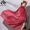 180*80 cm Clássico Cores Sólidas Lenço E Xaile Outono Inverno Cachecol Para As Mulheres Echarpes Lenços Cachecol de Alta Qualidade Femme