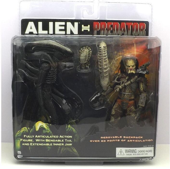 1set Alien Vs Predator Collection Figure Toys 21cm