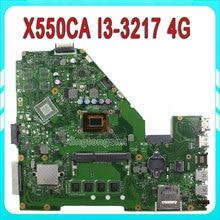 Original A550C A550CA R510C R510CA X550C X550CA Motherboard X500CC REV2.0 Mainboard With I3 -3217U HD Graphic 4000 Test