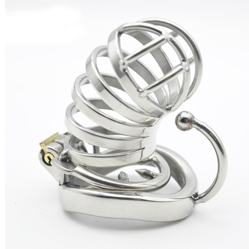 metal cock ring bird cage male chastity device stainless steel sex toys for men on the penis lock bondage cages cockring cb6000s metal cock ring cage male chastity catheter cbt device cb6000s sex toys for men on the penis cages bird lock bondage products