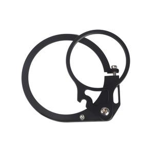 Image 4 - MINIFOCUS 98 için 67mm kırmızı Flip adaptörü kelepçe dalış filtresi/düzeltme Dome Port Lens/makro Lens sualtı kamera muhafazası