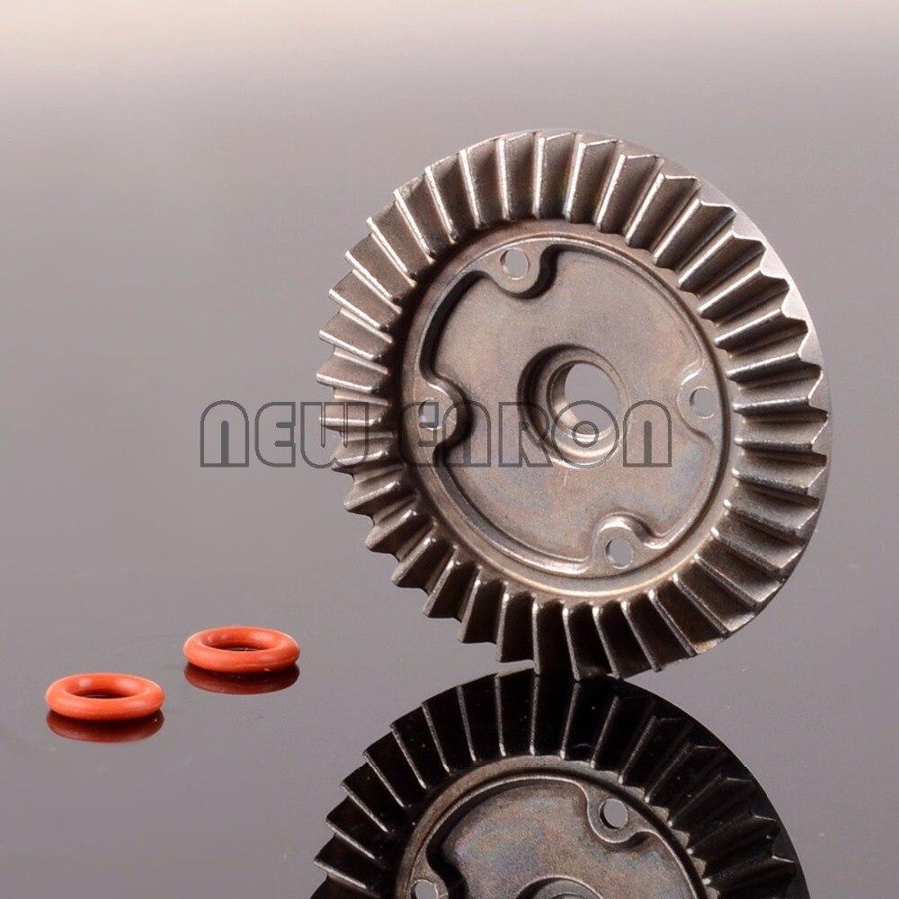 Oyuncaklar ve Hobi Ürünleri'ten Parçalar ve Aksesuarlar'de Yeni ENRON Diff taç dişli 38T ve mühürleme RC 1/10 HIMOTO E10MTL E10MT E10BP 31008