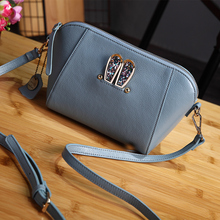 2016 Women Handbags Designer Brand Bags Women PU Leather Handbags High Quality Shell Bag Shoulder Handbag Zipper Messenger Bag