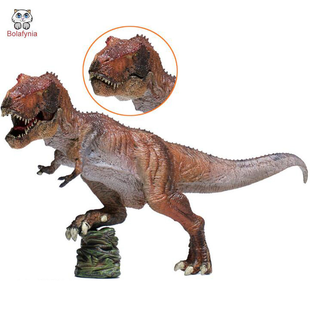 BOLAFYNIA Children Dinosaur Toy Tyrannosaurus Rex Dinosaur model animal toy baby kids for Christmas Birthday Gift big one simulation animal toy model dinosaur tyrannosaurus rex model scene
