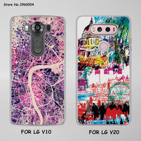 London Culture Big Ben London bus Style Thin transparent phone shell Case for LG G6 G5 G4 K8 2017 K10 2017 K5