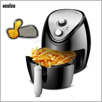 XEOLEO Air fryer 3.8L French fries fryer Deep fryer Intelligent Electric oven without oil Air frying machine 1300W home Airfryer xeoleo cold