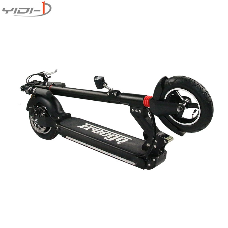 2 wheels electric scooter patinete electrico Body lantern city kick scooter electric 10-inch pneumatic tires dualtron electric scooter fold patinete electrico trottinette electrique adulte adult kick sooter electric city dualtron k4